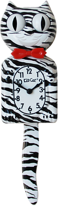 Zebra Kit-Cat® Klock