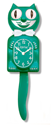 Green Beauty Kit-Cat® Klock