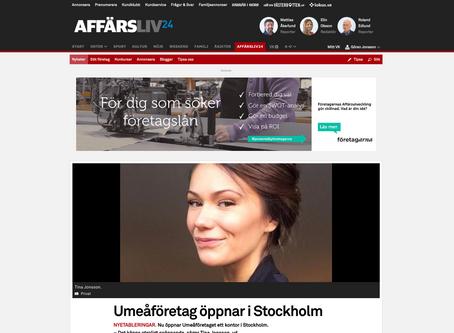 Vi expanderar till Stockholm!