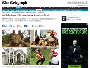 We made WORLD NEWS thanks to The Telegraph!