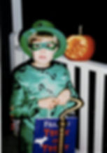 Leah as The RIddler