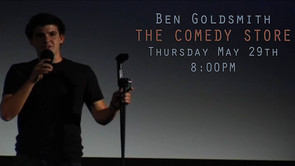 Ben's performing at THE COMEDY STORE tonight!