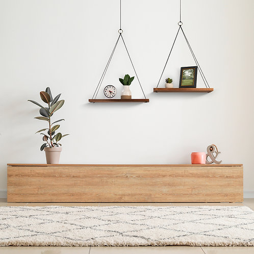 Masyl Rope Hanging Shelves