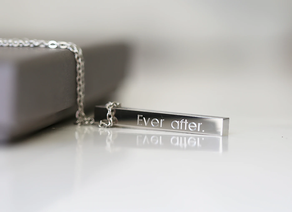 Personalised Bar Necklace