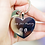 Thumbnail: Hearts Forever Keychain With Handwriting Engraving