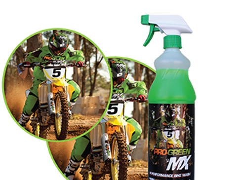 Pro MX high performance bike cleaner