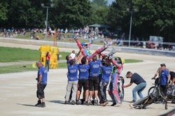 Team GB Celebrate World Team Victory