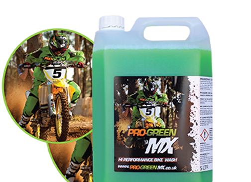 Pro MX high performance bike cleaner