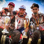 Steven Labouyrie Vainqueur de la Coupe du Monde de Long Track 250cc