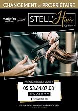 Flyer STELL'HAIR