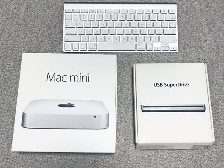 mac miniの初期設定とWindowsインストール作業