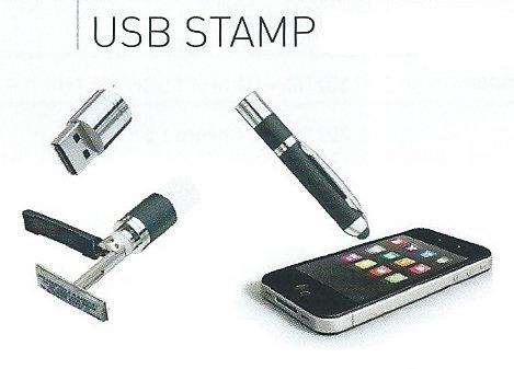 Bolígrafos con sello USB8G 321