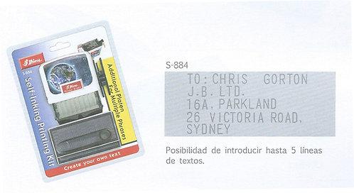 Imprentilla Shiny S-884