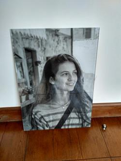 Placa Retratos