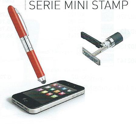 Bolígrafos con sello MINI STAMP