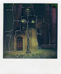 Il Lampione - Polaroid Artistic TZ Manipolata