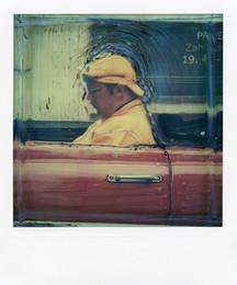 Tassista  - Polaroid Artistic TZ Manipolata