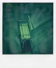 La panchina - Polaroid Artistic TZ Manipolata