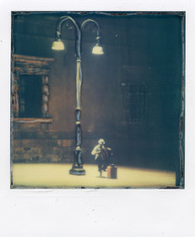 La Fisarmonica - Ortigia (Sicilia) - Polaroid Artistic TZ Manipolata
