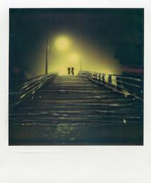 Coppia a Venezia - Polaroid Artistic TZ Manipolata