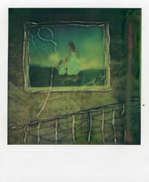 Quadro di strada - Polaroid Artistic TZ Manipolata