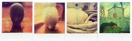 L'idiota - Morto di Passione - Impossible Project collage Manipolate