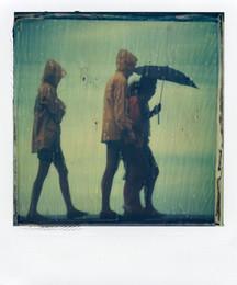 La pioggia - Polaroid Artistic TZ Manipolata