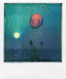 Palloncino Rosso - Polaroid Artistic TZ  Manipolata