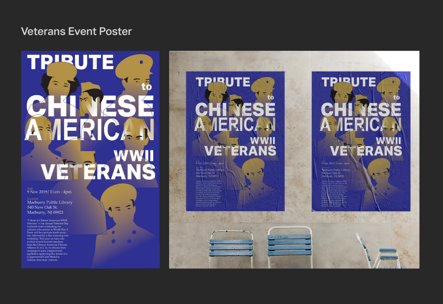Veterans Event Poster