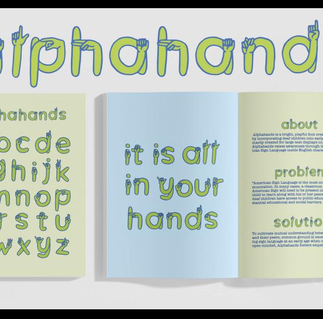 Alphahands Font