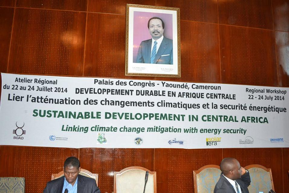 PREMIER ATELIER CLIMAT ET ENERGIE EN AFRIQUE CENTRALE, 22-24 juillet 2014, Yaoundé, Cameroun