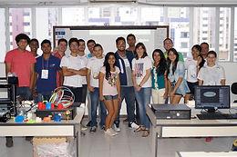 Mini-curso de Blender 3D no CEUMA, no Maranhão