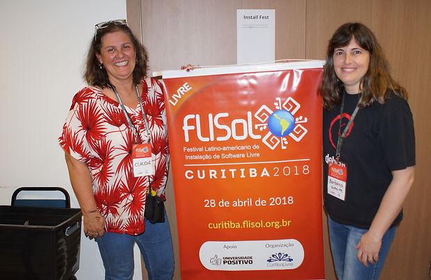 Flisol 2018 em Curitiba - clique para ver as fotos