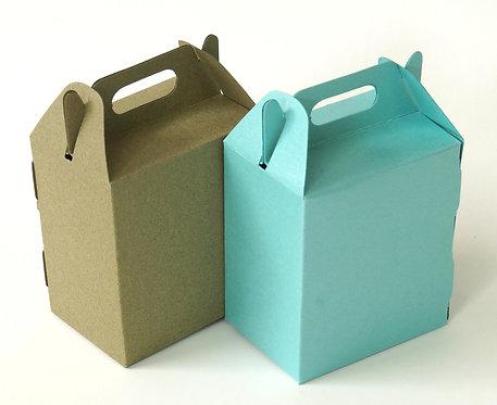 Caixinha Mini McLanche para festas 65x45x75mm - 10unid