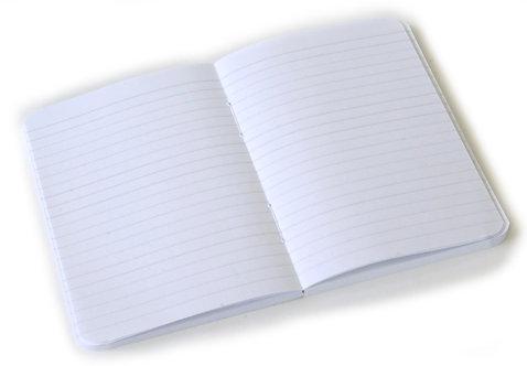 Miolo Personalizado 14x20cm para Agenda ou Caderno COSTURADO