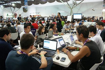 Oficina na Área de Software Livre da CPBR