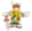 Rhabarbarbarbarbarian mascote