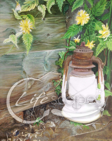 Lantern, garden, flowers Part 4