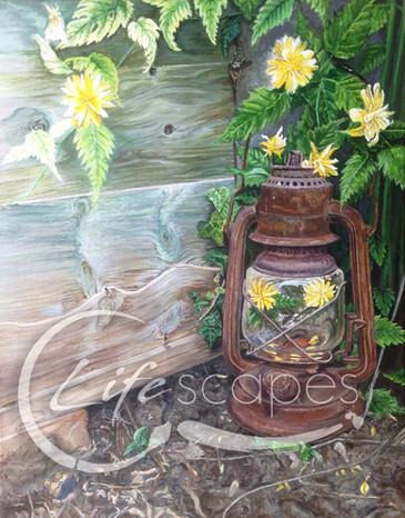 Lantern, garden, flowers Part 6