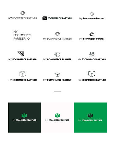 My eCommerce Partner design graphic