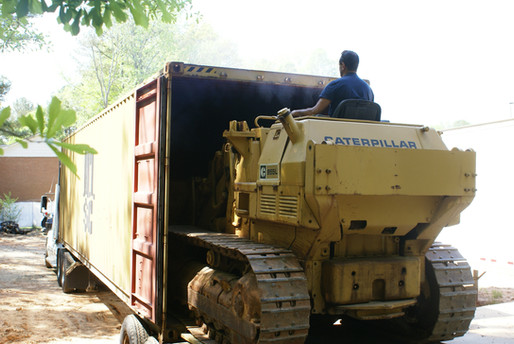 Container Shipping - Heavy Equipment