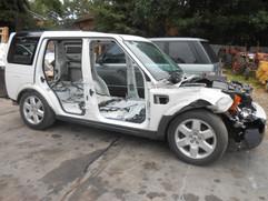 Dismantled Vehicle