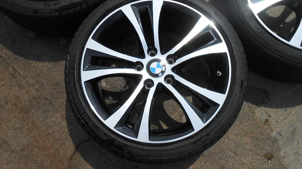 BMW 230I 5 DOUBLE SPOKE 18 IN. WHEELS & TIRES