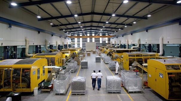 Alpla fabriekshal