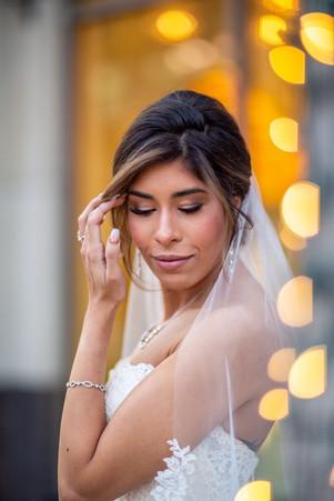 Yara's, our beautiful bride, look was ca