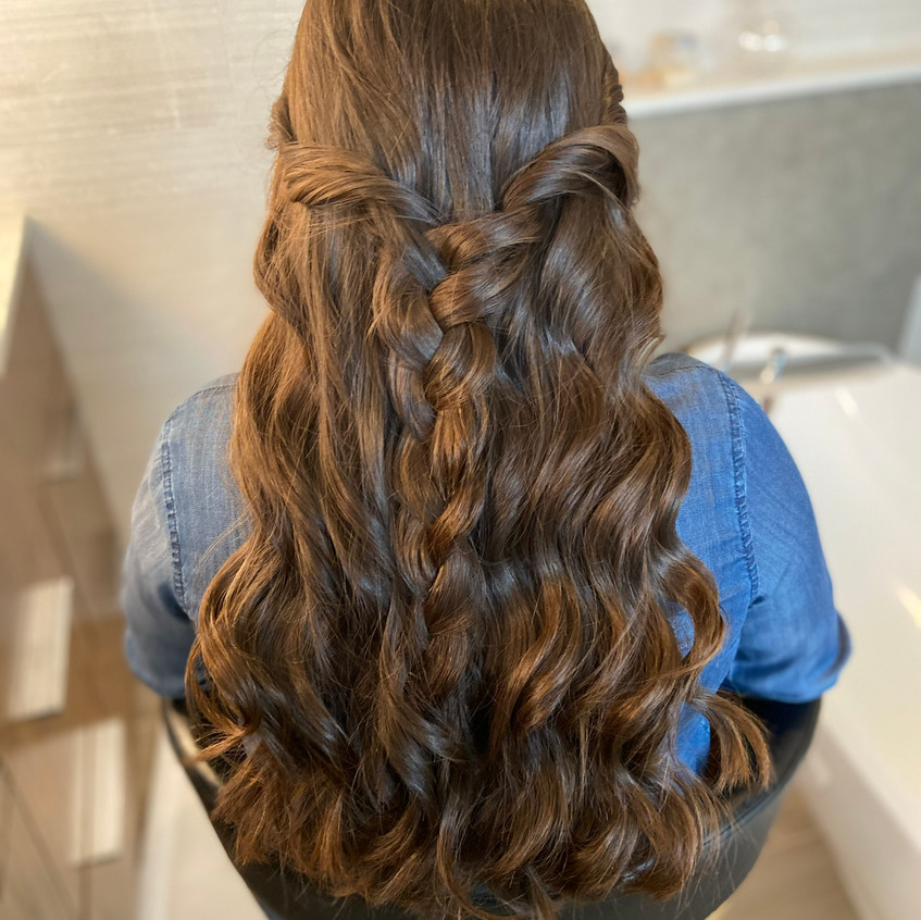 Curls for Cotillion