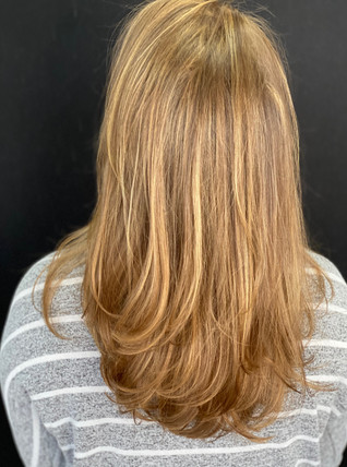 French balayage for a sunkissed natural look