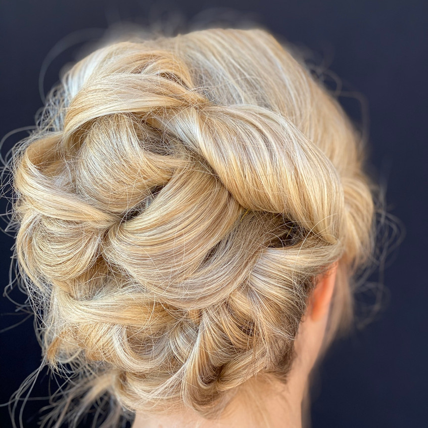 One of a million updo options