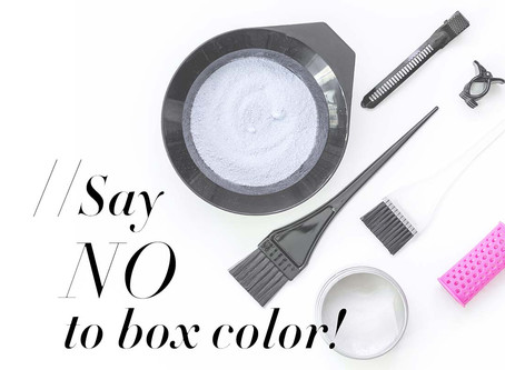 Say NO to Box Color During This Time