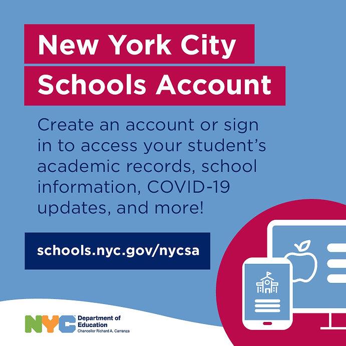 Create a NYC Schools Account